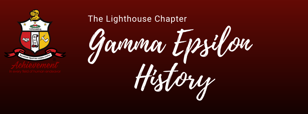 Gamma Epsilon Historical Review